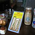 ABCストアで買った昼食