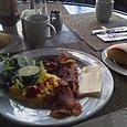 レインボーラナイでの朝食