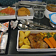SQの機内食