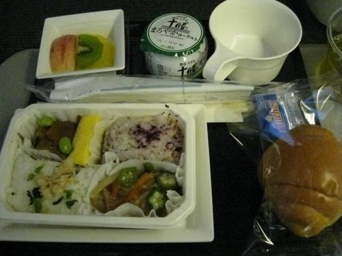 NRT→CDG 朝食